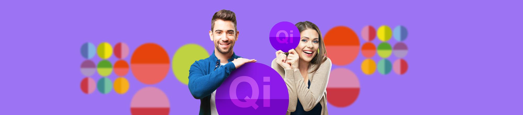 Qi banner